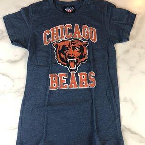Junk Food Chicago Bears T-shirt